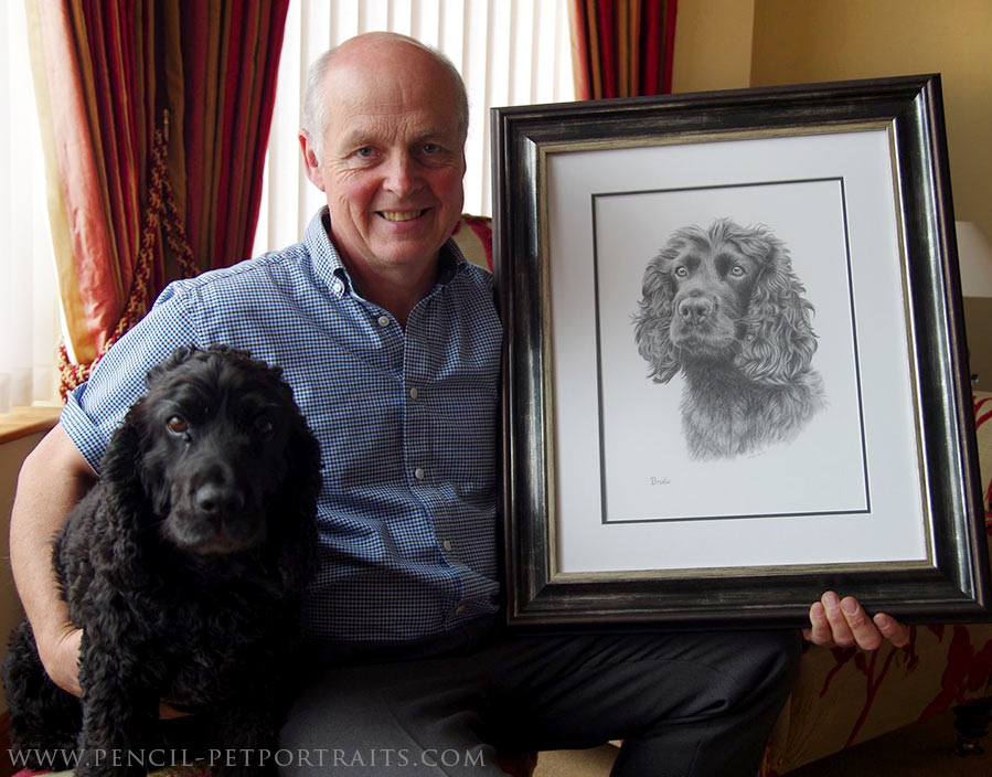 pencil pet portraits by melanie phillips